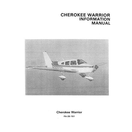 Piper PA-28-151 Cherokee Warrior 1974-76 Pilot's Information Manual -