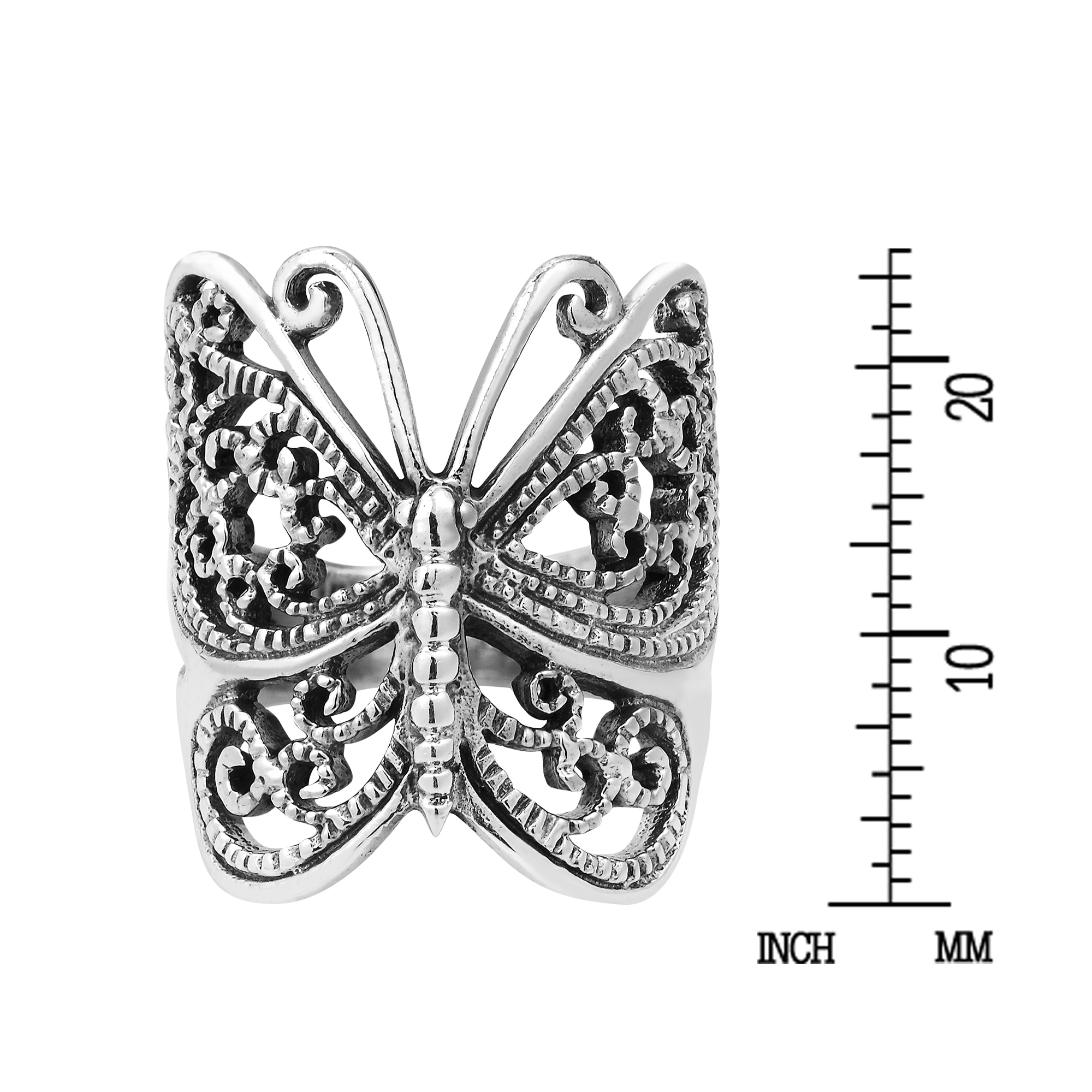Best Wing Jewelry .925 Sterling SilverButterfly Childrens Stud Earrings with Plastic Part