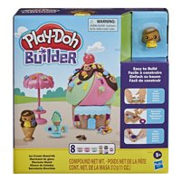Play-Doh Builder Ice Cream Stand Kit, Ages 5 and up