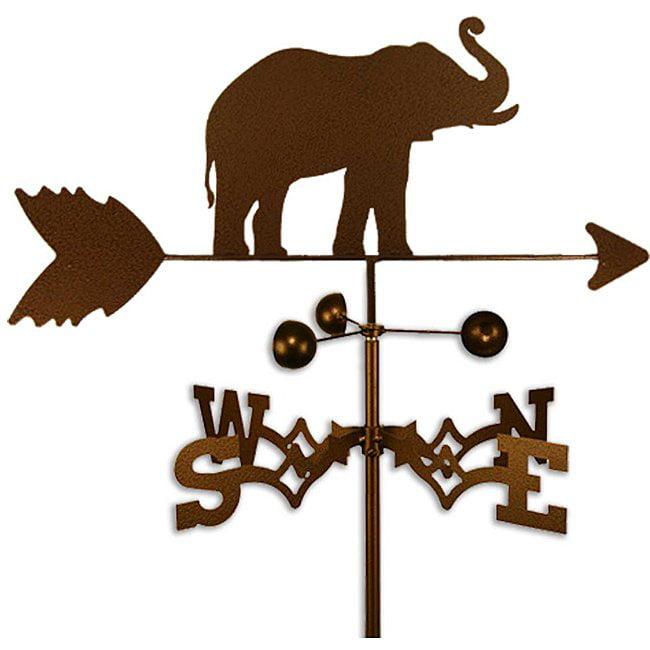 SWEN Products Inc Handmade Elephant Weathervane by Overstock
