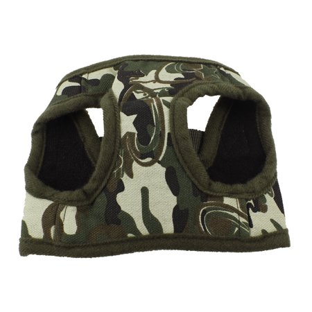 Unique Bargains Army Green Netty Style Hook Loop Fastener Pet Dog Cat Doggy Harness Vest Size XS (Vest Style Pet Harness)