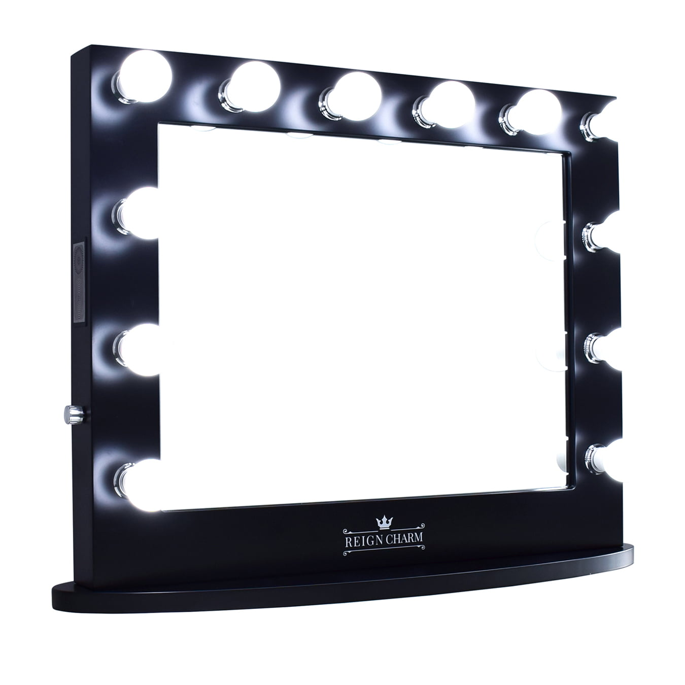 ReignCharm Hollywood Vanity Mirror, 12 LED Lights, Dual Outlets & USB, 32-inches x... by ReignCharm