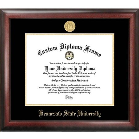 kennesaw state university x gold embossed diploma frame  kennesaw state university 11 x 14 gold embossed diploma frame
