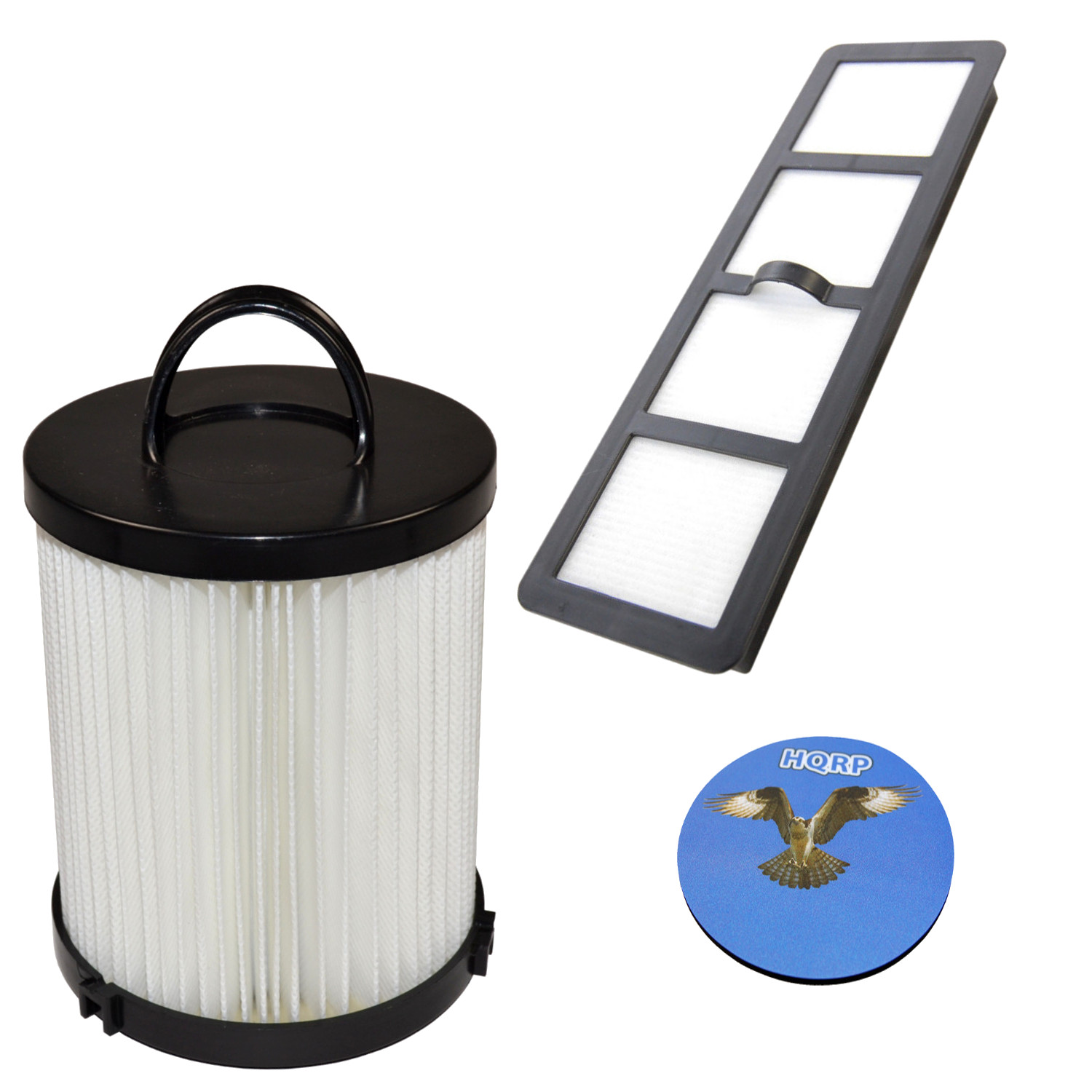 HQRP Dust Cup and Exhaust HEPA Filters for Eureka AirSpeed AS1001AE, AS1001AX, AS1000A, AS1001A Upright Vac Vacuum + HQRP Coaster - image 6 of 6