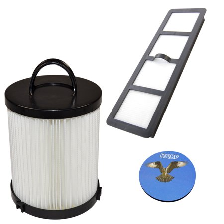 HQRP Dust Cup HEPA Filter and Exhaust Filter for Eureka AirSpeed PRO ALL FLOORS Rewind Pet AS1061A, AS1060 Upright Vacuum series + HQRP