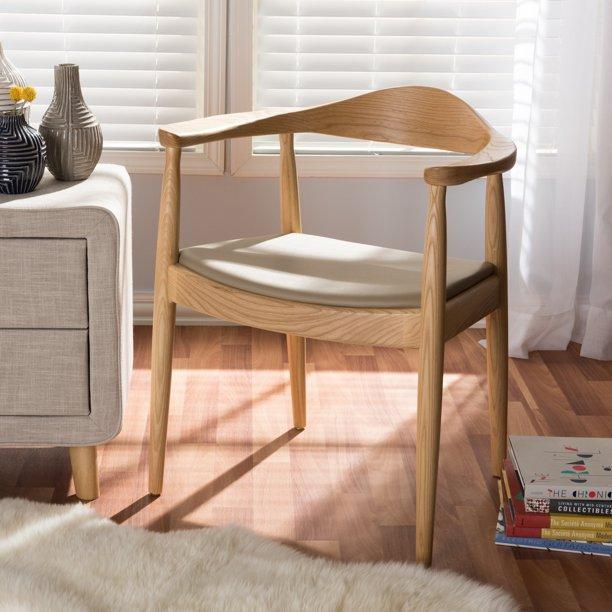 Strick & Bolton Hawkins Mid-Century Modern Dining Chair - Walmart ...