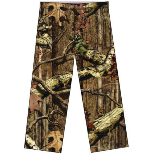 Realtree and Mossy Oak Girl's Cargo Pants, Multiple Patterns