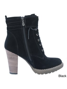 08a9175938f87 Product Image dimecity women's 'breve' stacked heel lace-up ankle boots