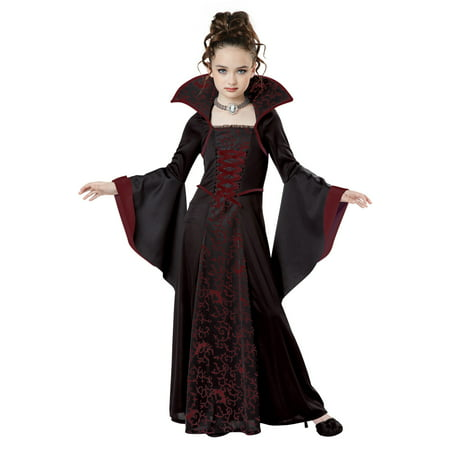 Royal Vampire Child Costume - Vampire Halloween Makeup For Kids
