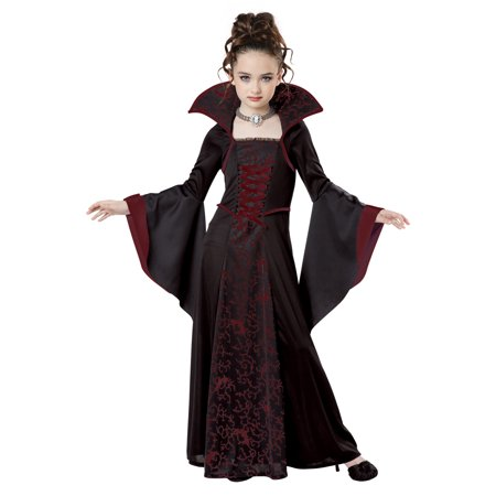 Royal Vampire Child Costume - Makeup Tutorial Halloween Vampire Kids