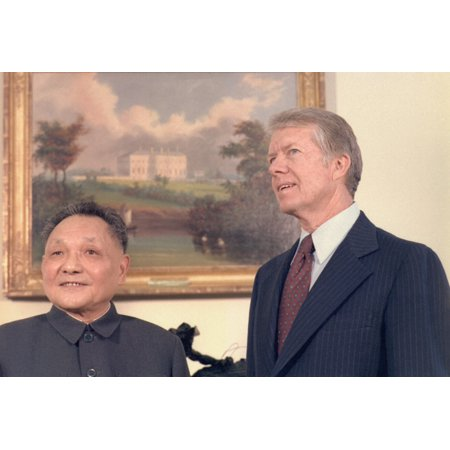 Deng Xiaoping And Jimmy Carter In The Oval Office During The Chinese Vice PremierS Nine Day State Visit In January 1979 (Best Month To Visit China)