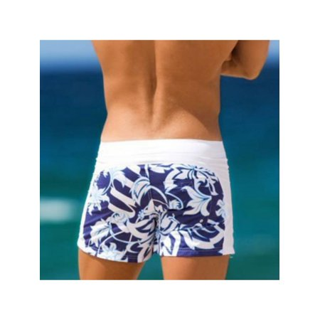 7540a8b18c MarinaVida Men Summer Swim Shorts Swimwear Swimming Trunks Underwear Boxer  Briefs Pants - Walmart.com