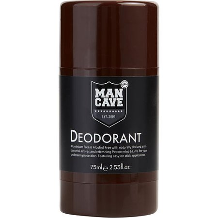 Mancave By Mancave Natural Deodorant Stick Alcohol Free
