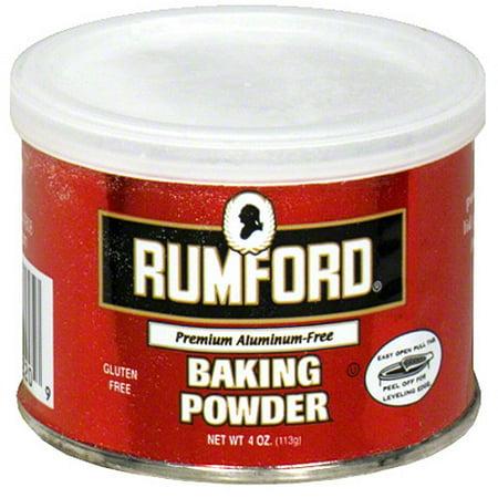Rumford Gluten Free Baking Powder, 4 oz (Pack of 24)