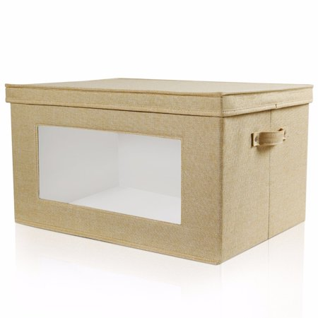 Lifewit Large Storage Box Organizer Basket with Lids and Handles Toy Storage Bin