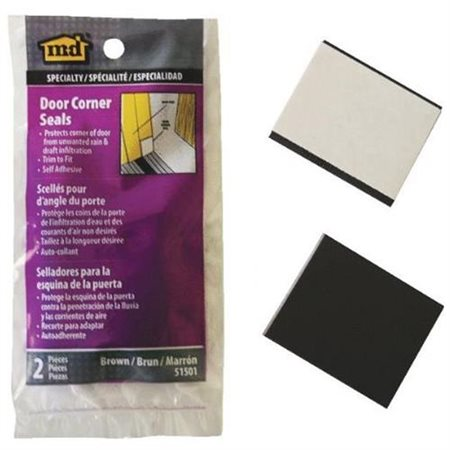 M-d Products 51501 M-d Products 51501 Brown Corner Weatherseals 2 Count