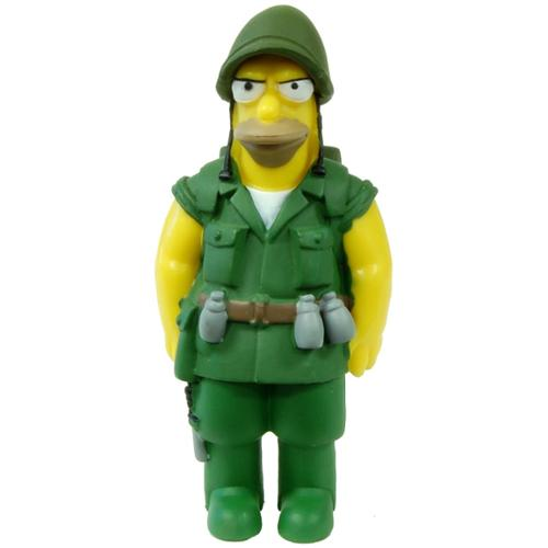 Simpsons 20th Anniversary - The Simpsons 20th Anniversary Figure Seasons 6-10 Fighting Abe Simpson