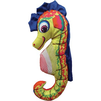 Plush Suzy Sea Horse Dog Toy, 17""