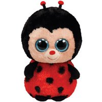 b1762b98b6b Product Image TY Beanie Boos - BUGSY the Ladybug (Solid Eye Color) (Medium  Size -
