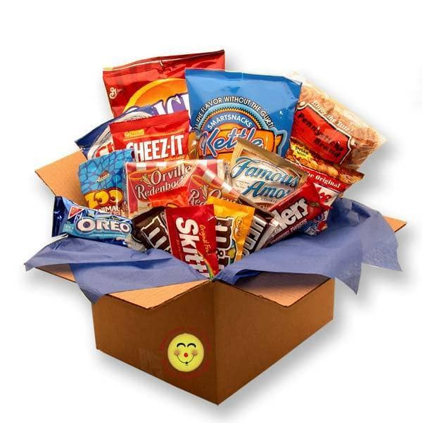 Gift Basket Drop Shipping Snackdown Deluxe Snacks Care Package
