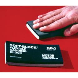 Hand Sanding Block - SOFT BLOCK FLEXIBLE SANDING BL