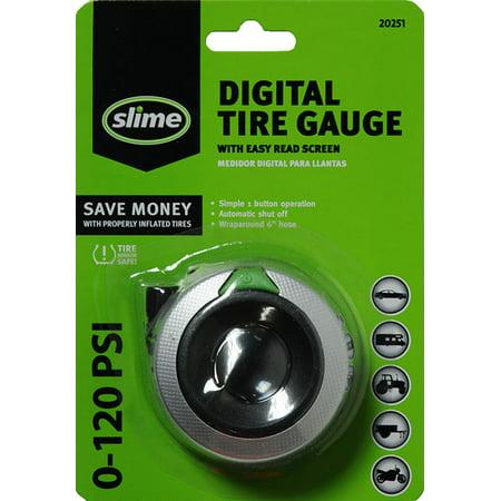 Slime Digital Tire Pressure Gauge with Hose - 20251