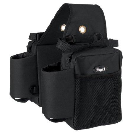 Tough-1 Nylon Water Bottle / Gear Carrier Saddle Bag