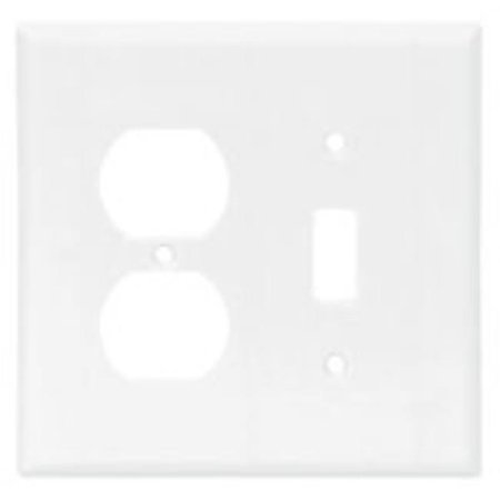 Cooper Wiring Devices 2038W-BOX Mid Size Combination Wallplates Thermo