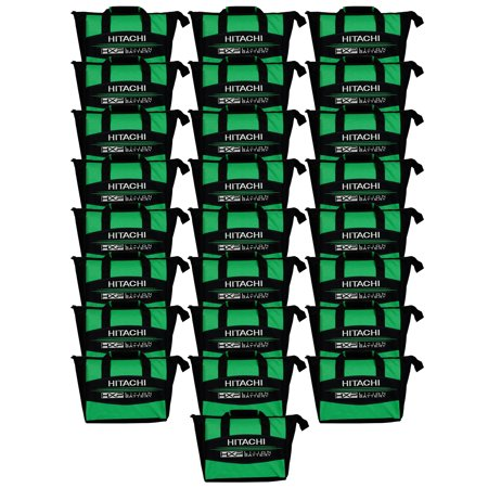 "Hitachi Power Tools 12"" HXP Lithium-Ion Heavy Duty Contractor Tool Bag (25-Pack)"