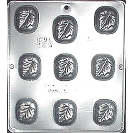 124 Leaf Piece Chocolate Candy Mold