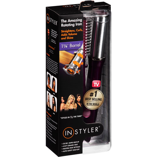 "InStyler Rotating Styling Iron - Purple (1-1/4"" Barrel)"
