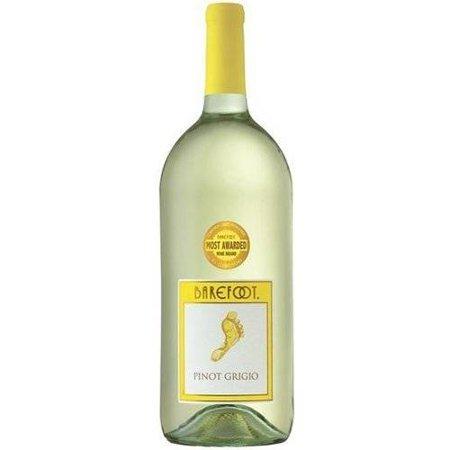 Barefoot Pinot Grigio Wine White Wine 1 5l Walmart Com