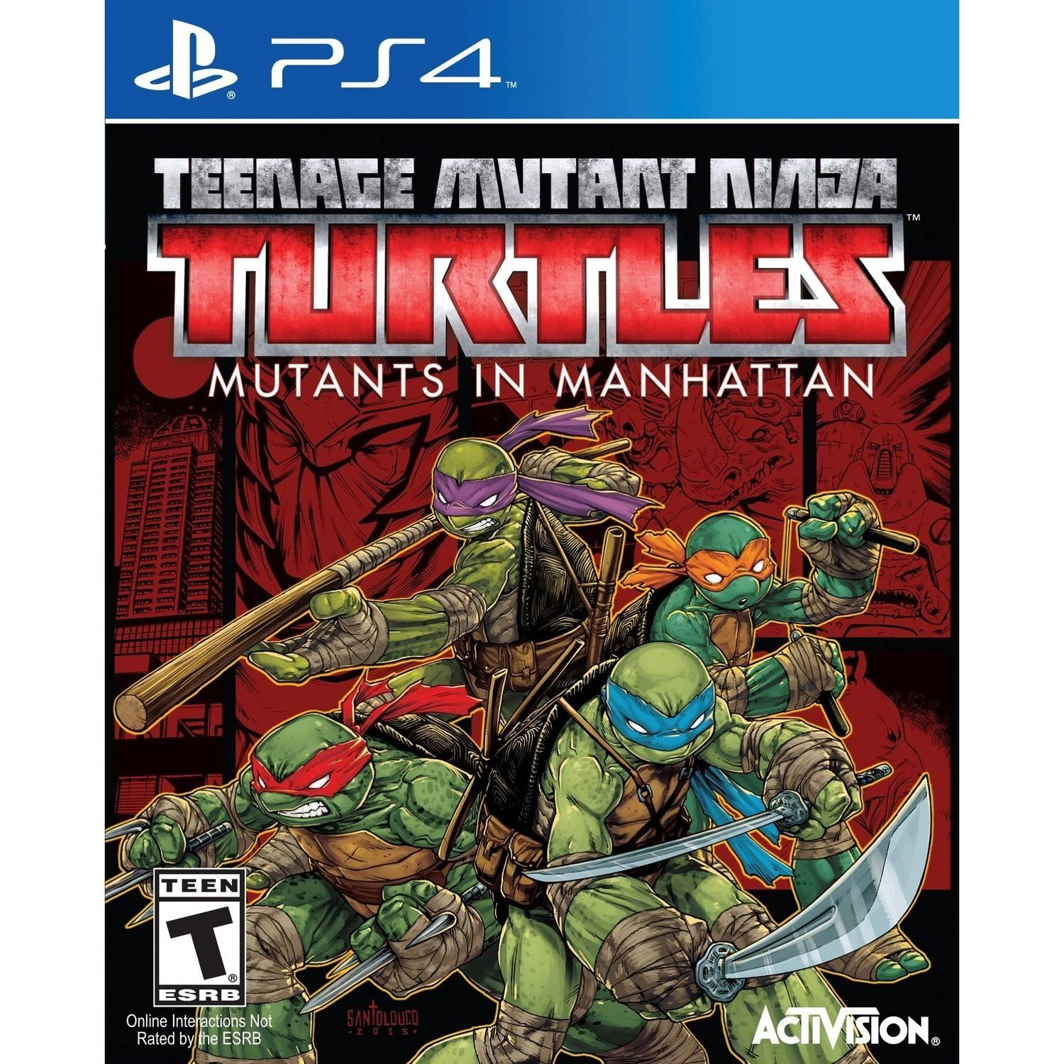 Teenage Mutant Ninja Turtles: Mutants in Manhattan - Pre-Owned (PS4)
