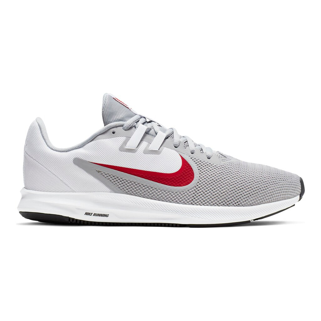 Running Shoes Gray Red White Black