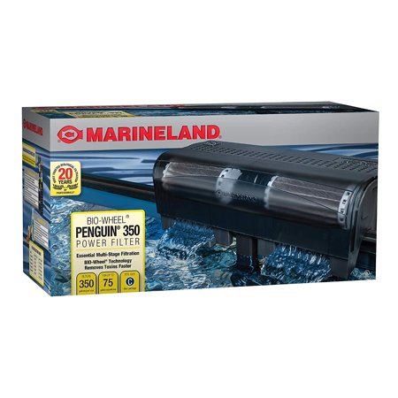 Marineland Penguin Power Filter, 350GPH - 50 to 75 (Best Canister Filter For 55 Gallon Aquarium)
