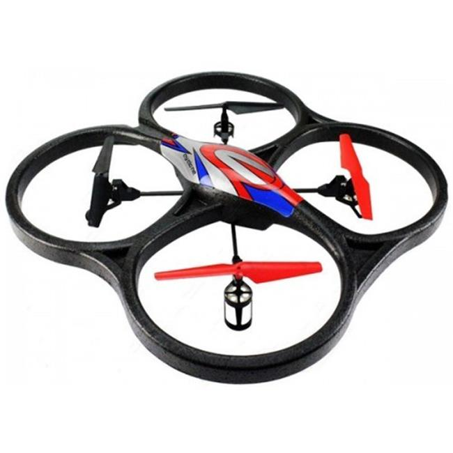 AZ IMPORT & TRADING V262 Red 2. 4Ghz 4ch V262 Big Size UFO Quadcopter with Gyro V262 Red