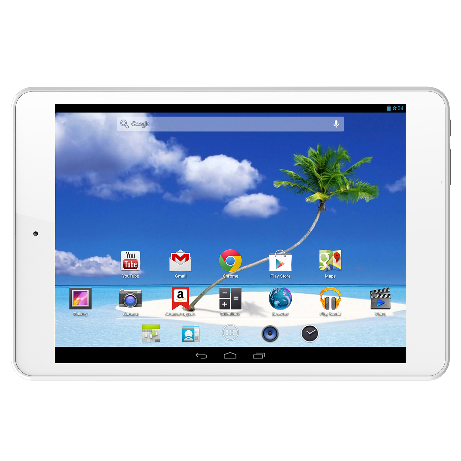 Refurbished Proscan PLT7803G Dual-Core Andoid 7.85-Inch 4GB Touchscreen Tablet - White
