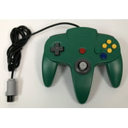 Green Replacement Controller for Nintendo N64 by Mars Devices