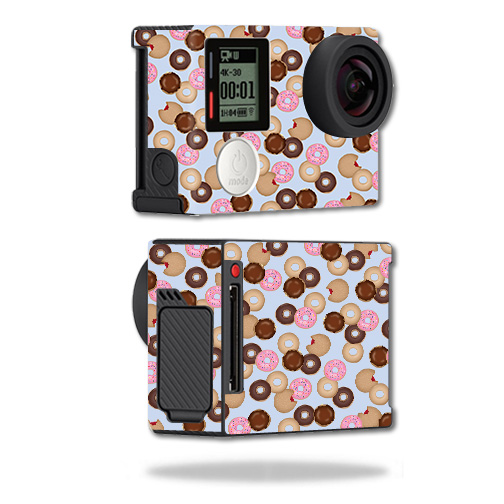 Skin For GoPro Hero4 Black Edition – Donut Binge | MightySkins Protective, Durable, and Unique Vinyl Decal wrap cover | Easy To Apply, Remove, and Change Styles | Made in the USA