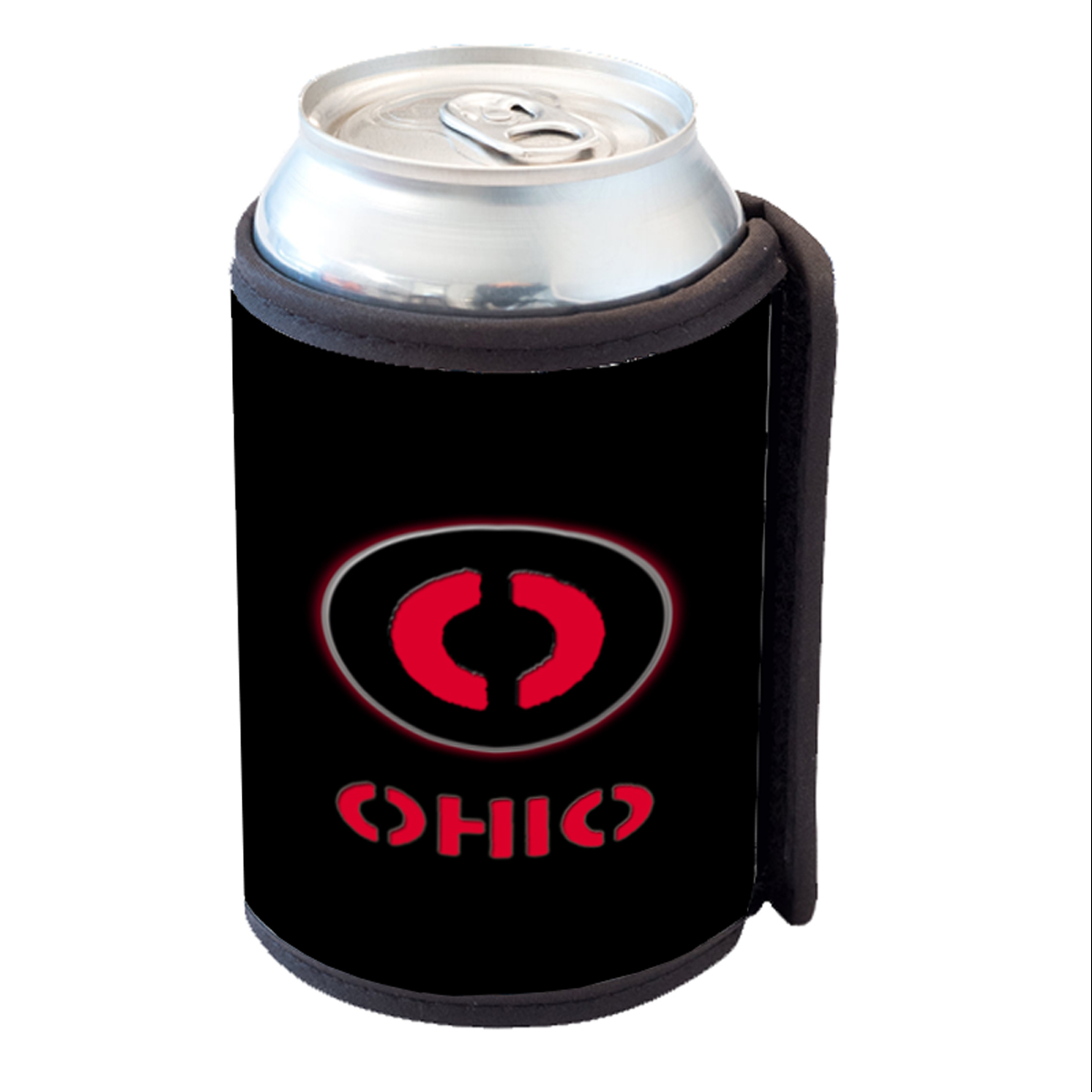 KuzmarK Insulated Drink Can Cooler Hugger - Ohio