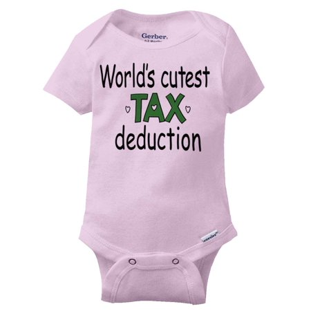 fe89a5c58 Cutest Tax Deduction Funny Baby Clothes