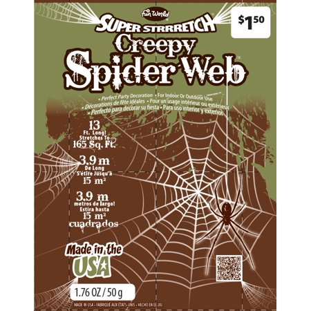 Super Stretch Creep Spider Web By Fun World