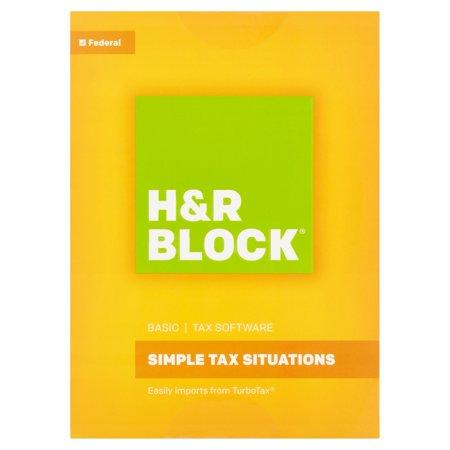 H Block Basic Tax Software