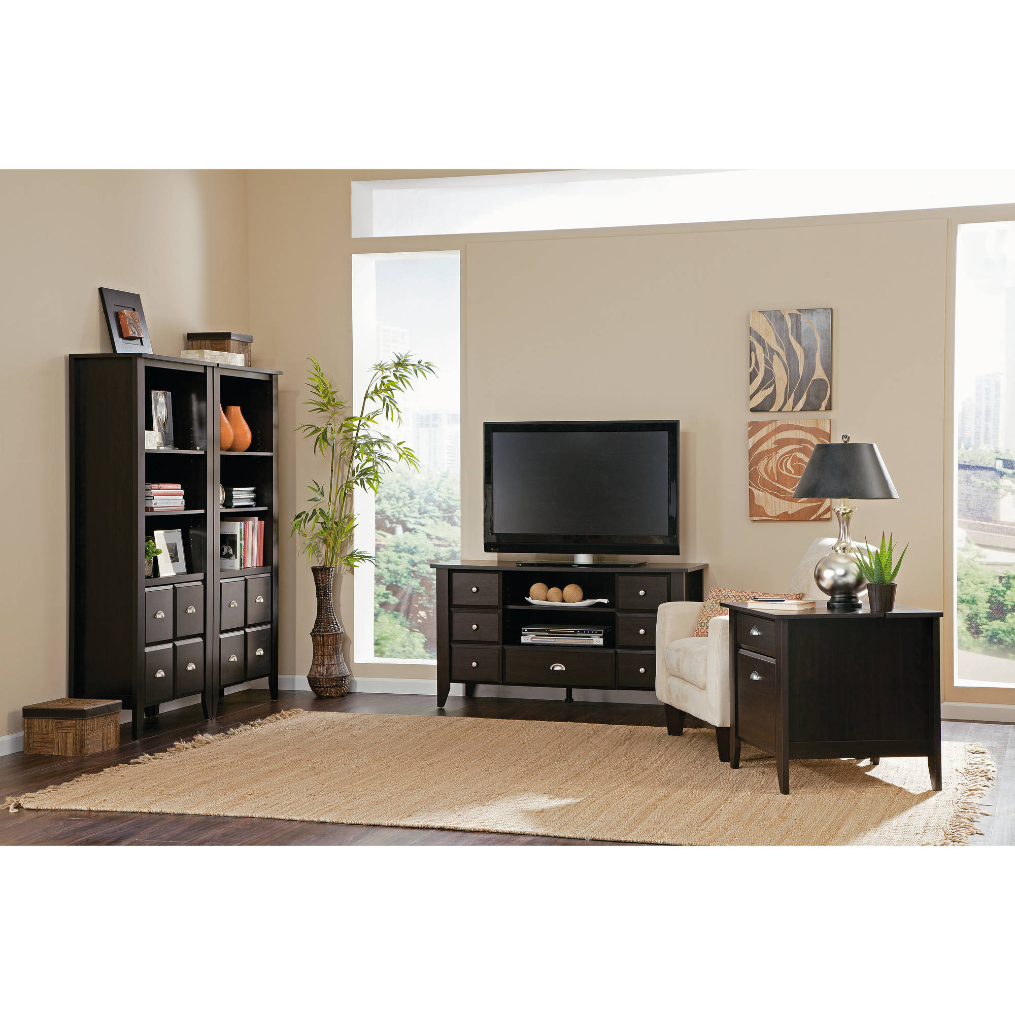 Sauder Shoal Creek Home Entertainment And Office Furniture