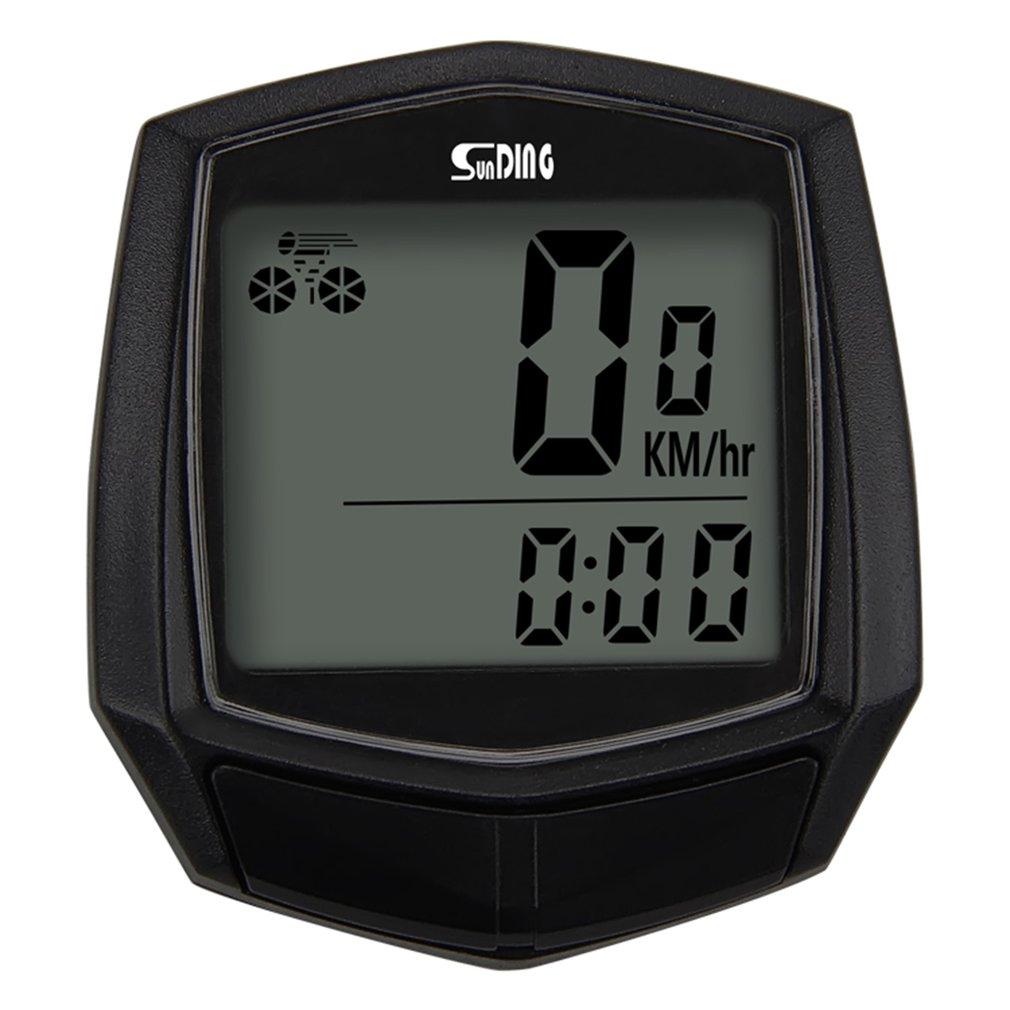 Bike Wired Stopwatch Bicycle Multifunction Computer Speedometer Odometer