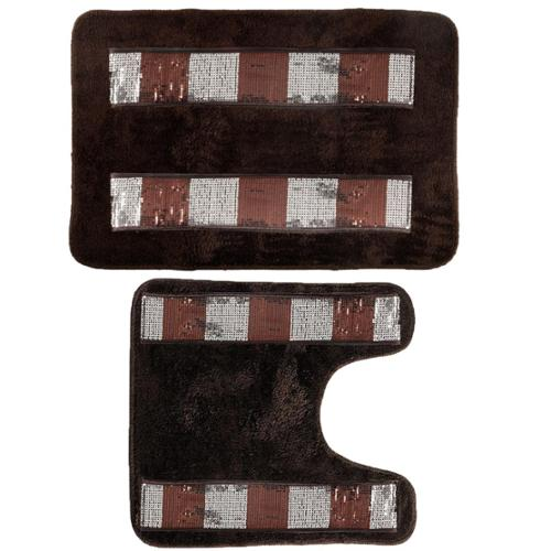 BED BATH N MORE Elegant Bathroom Rug Set