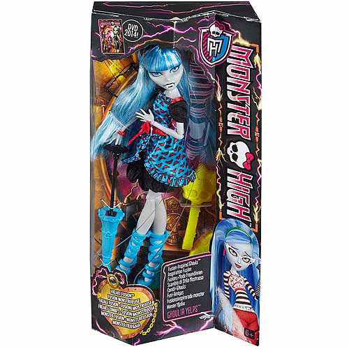 Monster High Freaky Fusion Ghoulia Doll