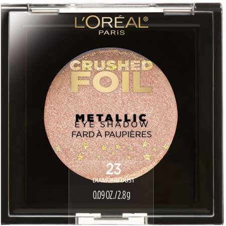 L'Oreal Paris Crushed Foils Metallic Eyeshadow, Diamond