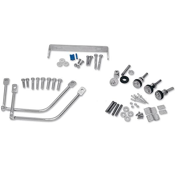 Saddleman S4 Complete Quick Disconnect Kit Fits 84-12 Har...