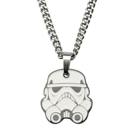 Star Wars Rebel Stormtrooper Pendant Glow Necklace (Star Wars Favor Ideas)